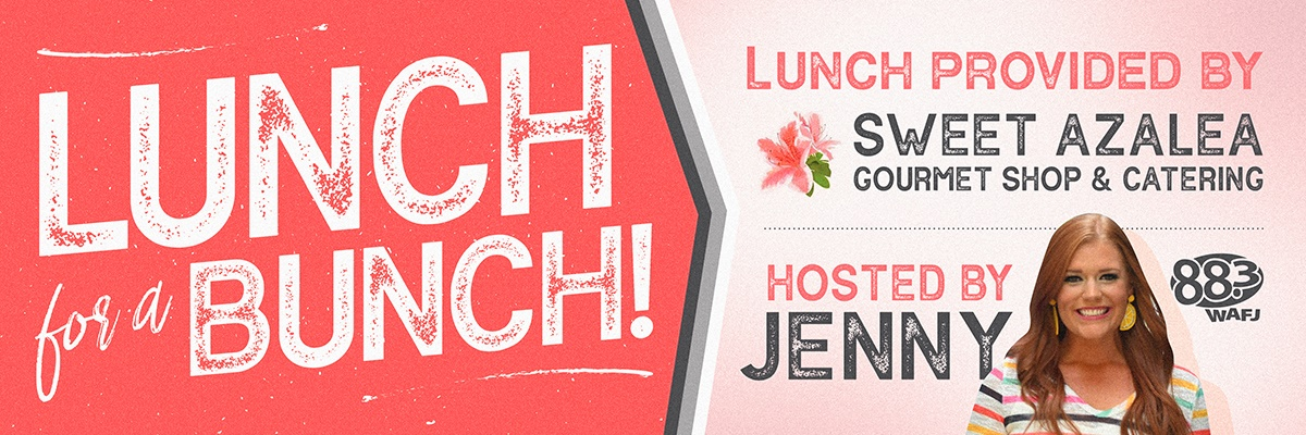 Lunch For A Bunch With Jenny Bender